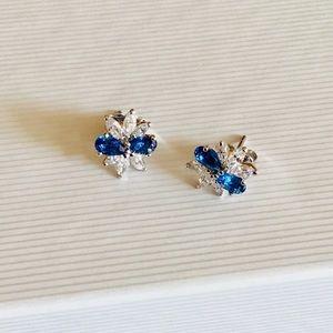 🆕 NADRI Cubic Zirconia Cluster Earrings
